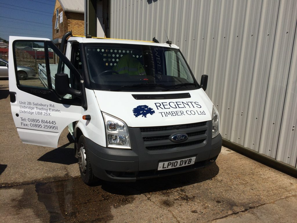 Timber Delivery Rickmansworth